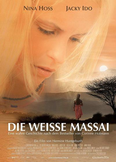 白色的玛赛女人海报