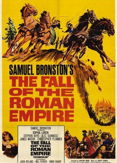 罗马帝国沦亡录海报