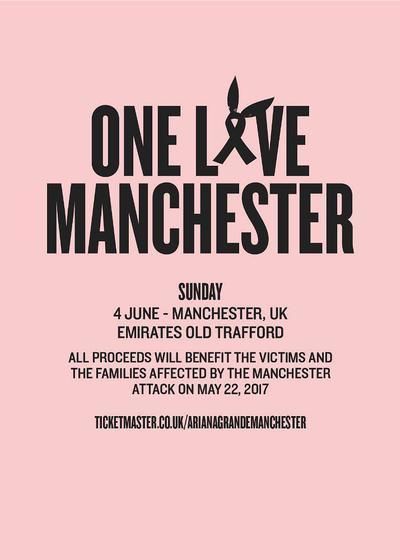 One Love Manchester海报