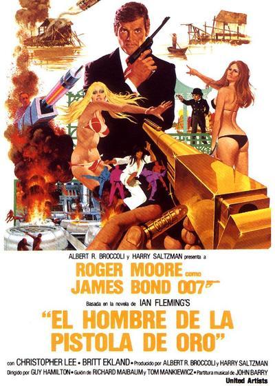 007之金枪人海报