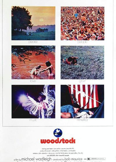 伍德斯托克音乐节1969海报