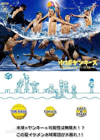 水球不良少年海报
