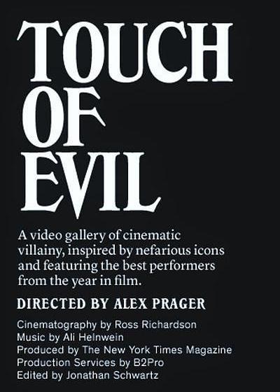 触摸恶魔海报