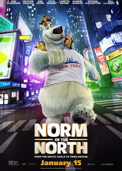 北极移民海报