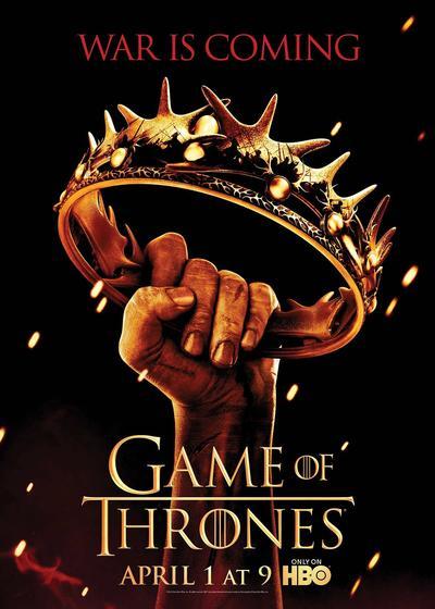 权力的游戏  第二季海报