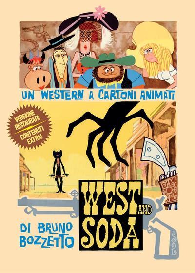 西部和苏打海报