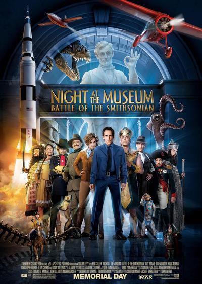 博物馆奇妙夜2海报