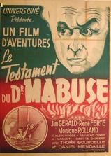 马布斯博士的遗嘱海报