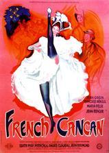 法国康康舞海报