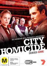 城市凶杀组  第一季海报