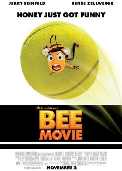 蜜蜂总动员海报