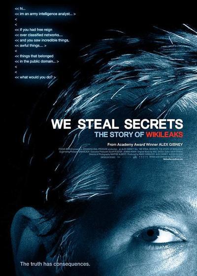 我们窃取秘密:维基解密的故事海报