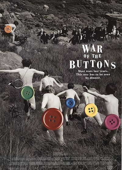 钮扣战争海报