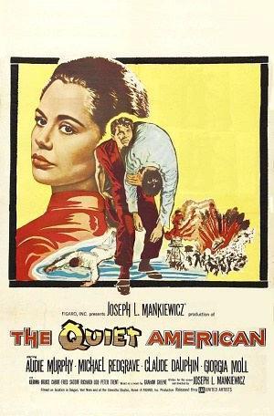 安静的美国人海报