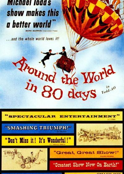 环游世界八十天海报
