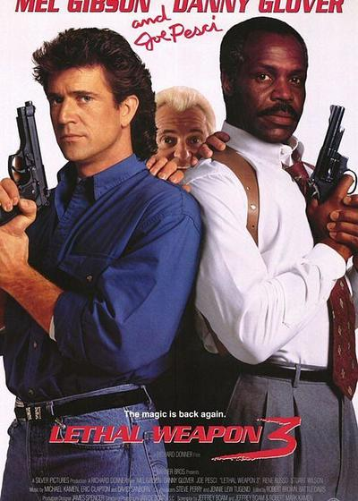 致命武器3海报