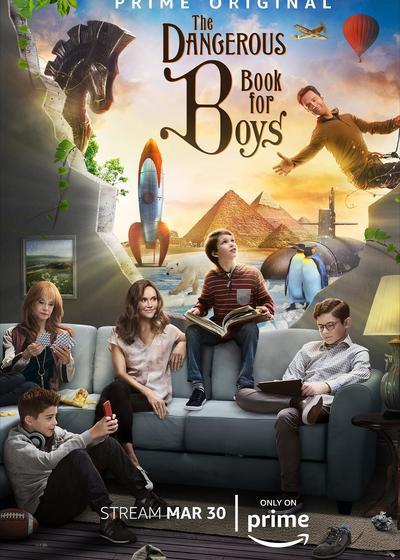 男孩们的冒险书海报