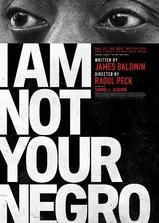 我不是你的黑鬼海报