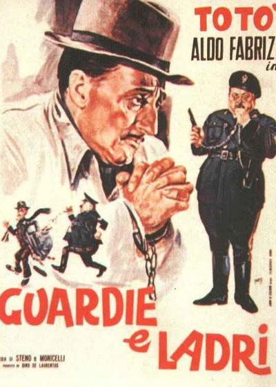 警察与小偷海报
