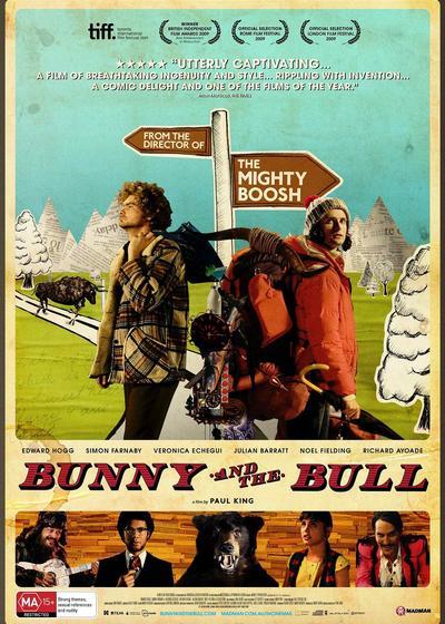 兔子和公牛海报