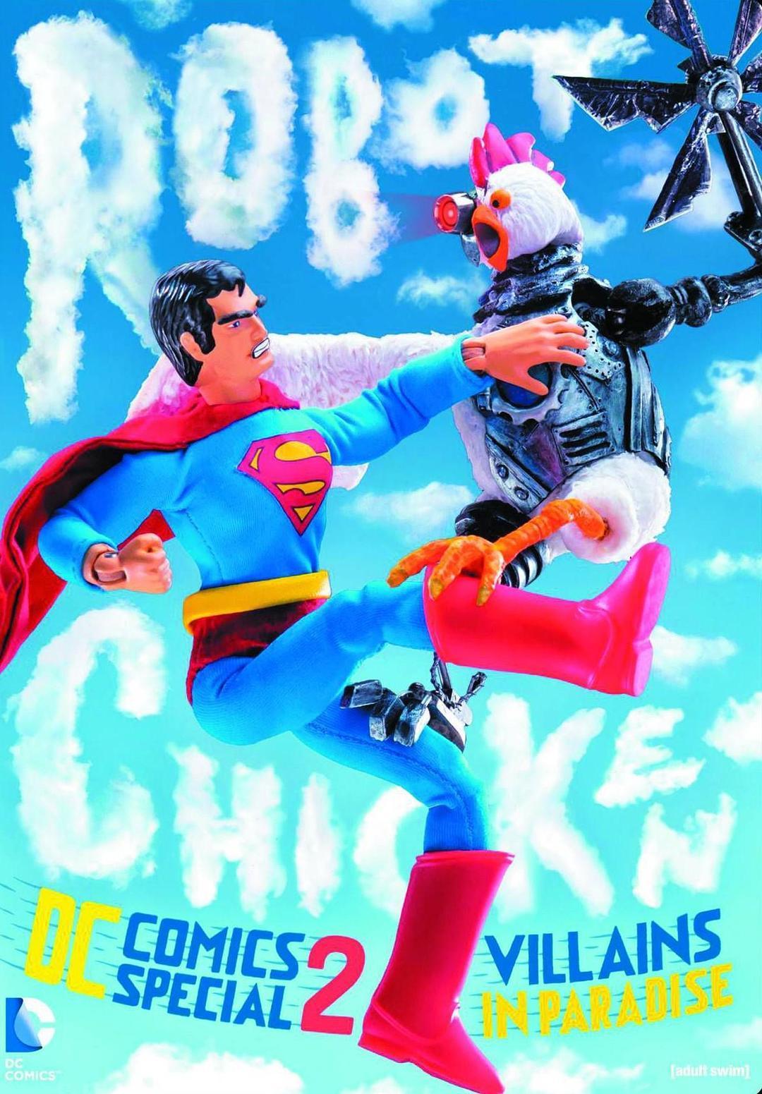 机器鸡DC漫画特辑2:罪犯天堂