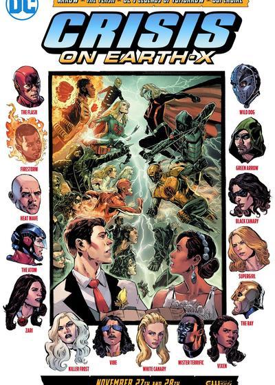 地球X危机海报