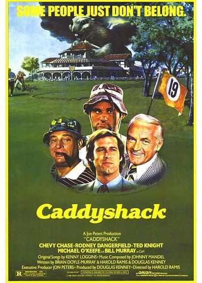 疯狂高尔夫海报