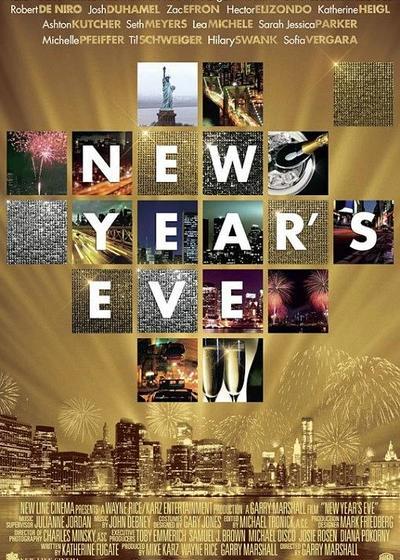新年前夜海报