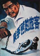 戴手铐的旅客海报