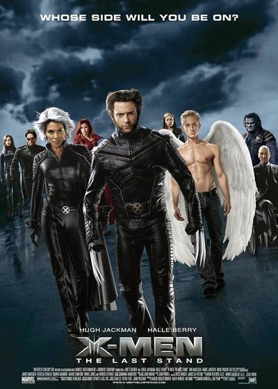 X战警3:背水一战海报
