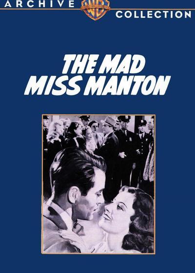 疯狂的曼顿小姐海报