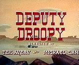 副警长德鲁比海报