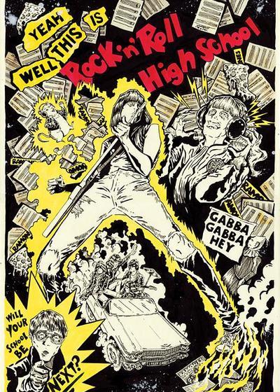 摇滚学校海报