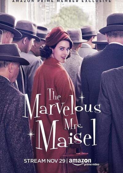 了不起的麦瑟尔夫人 第一季海报