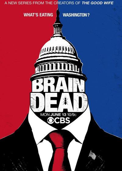 吃脑外星人海报