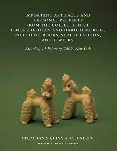 勒诺·杜兰和哈罗德·莫里斯收藏的重要文物和私人物件,包括书籍、街头时尚和珠宝