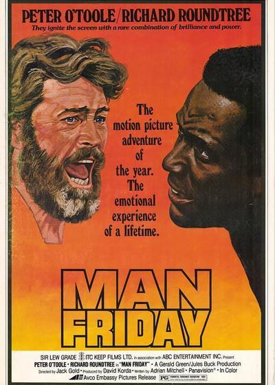那个叫星期五的人海报