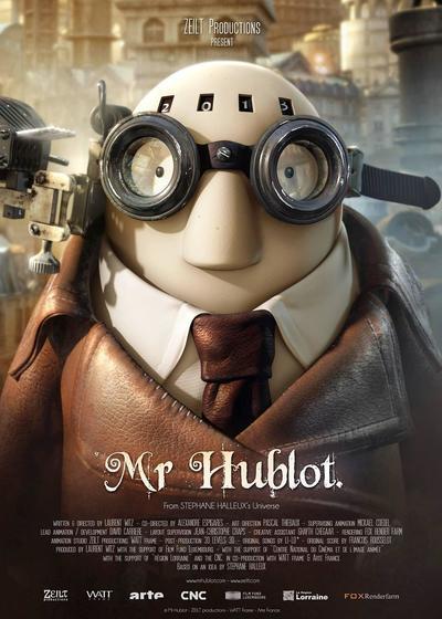 哈布洛先生海报