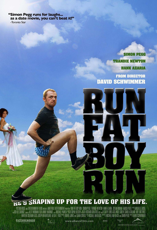 胖男孩快跑