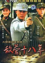 敌营十八年海报