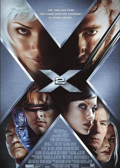 X战警2海报