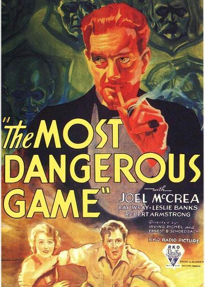 最危险的游戏海报