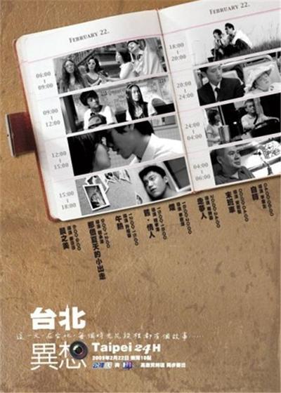 台北异想海报