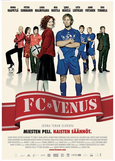 维纳斯与足球海报