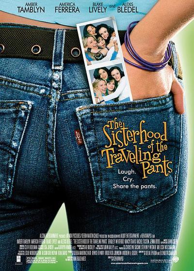 牛仔裤的夏天海报