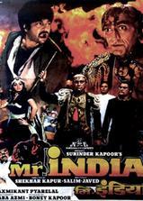 印度先生海报