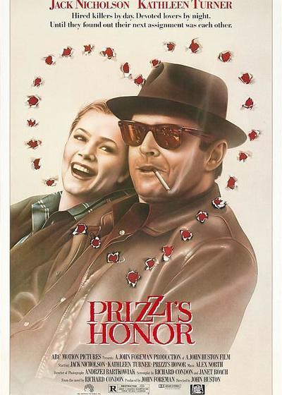 普里兹家族的荣誉海报