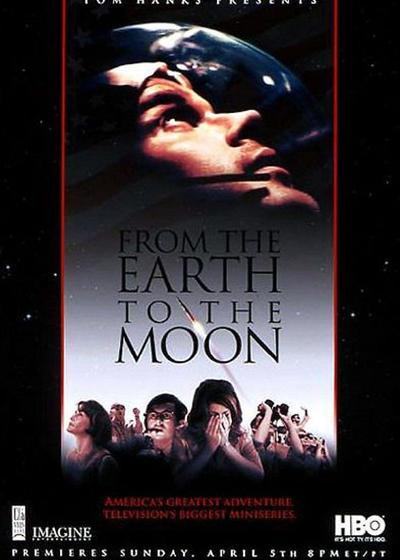 从地球到月球海报