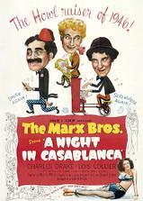 卡萨布兰卡之夜海报