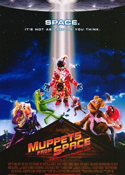 太空木偶历险记海报
